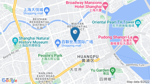 Radisson Collection Hyland Shanghai Map