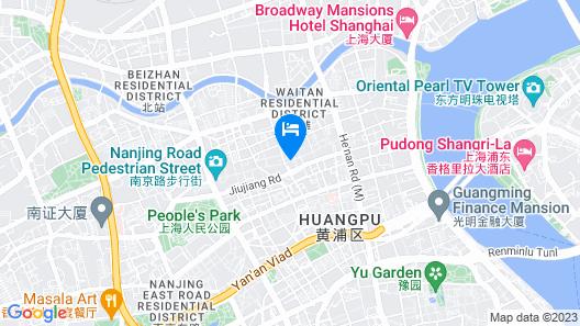 Sofitel Shanghai Hyland Map