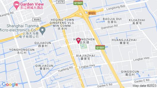 Vienna Hotel Shanghai PVG Beimen Map