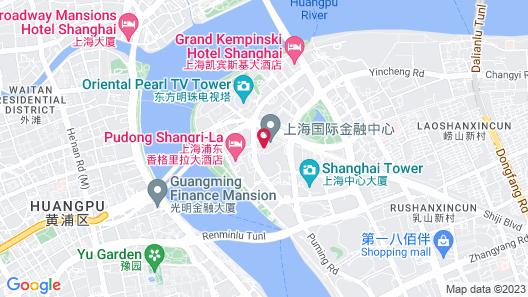 The Ritz-Carlton Shanghai, Pudong Map