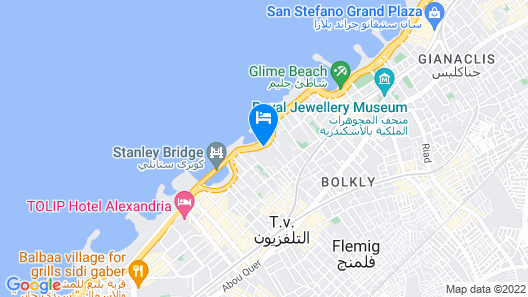ROMANCE ALEXANDRIA HOTEL Map