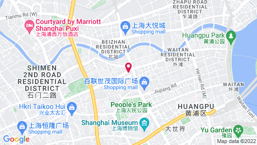 Green Court Residence City Center, Shanghai(Original name: Green Court Serviced Apartment-People's Square) Map