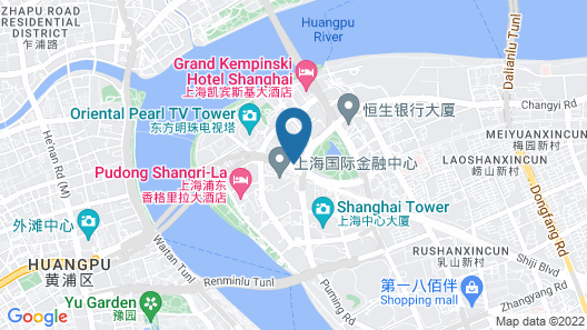 Grand Hyatt Shanghai Map