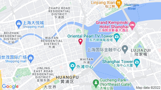 Fairmont Peace Hotel Map