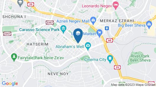 Sapir Boutique Apartments Map