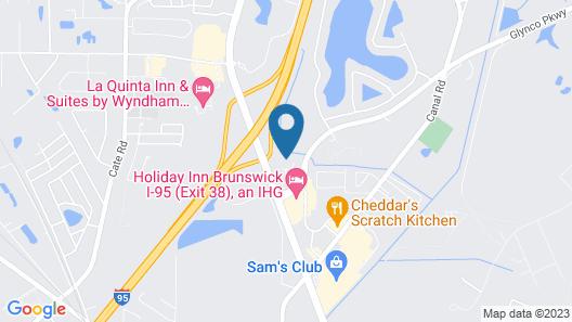 Residence Inn by Marriott Brunswick Map