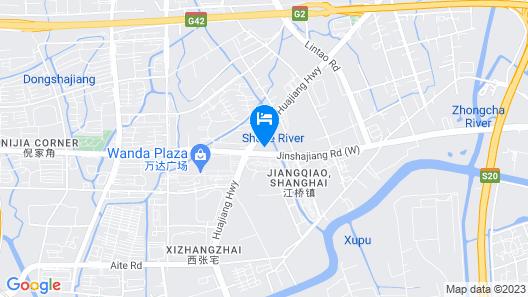 The Qube Hotel Shanghai North Hongqiao Map