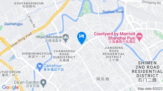 Yuanda International Apartment Hotel Map
