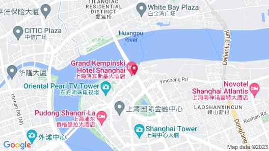 Grand Kempinski Hotel Shanghai Map