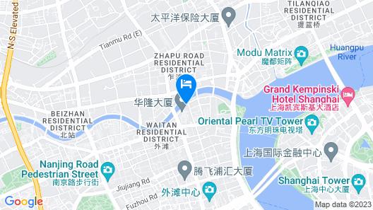 The Peninsula Shanghai Map