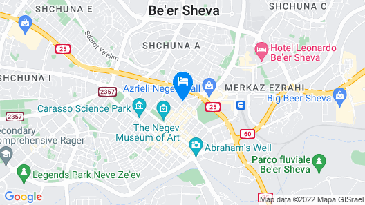 Beer Sheva Old Town Apartments by Master Map