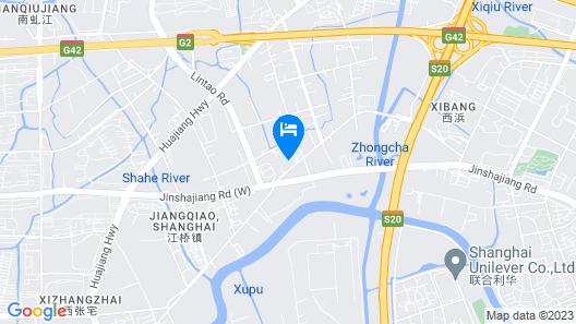 Vienna Classic Hongqiao Airport Wuzhong Road Map