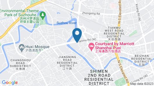 Courtyard by Marriott Shanghai Central Map