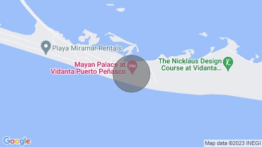 Master Suite Vidanta Mayan Palace Puerto Peñasco Map