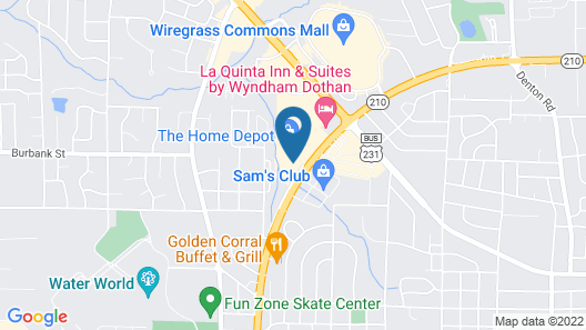Country Inn & Suites by Radisson, Dothan, AL Map