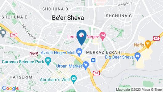 Shahal Apartments Map
