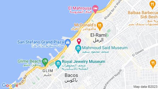 Jewel San Stefano Hotel Map