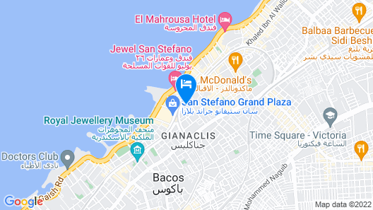 Jewel San Stefano Hotel Map