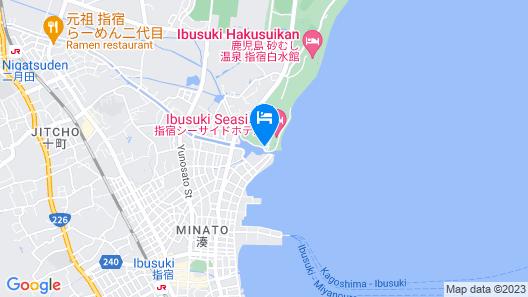 Ibusuki Seaside Hotel Map