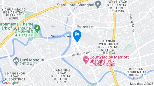 Pullman Shanghai Jing An Map
