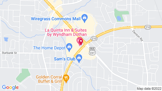 La Quinta Inn & Suites by Wyndham Dothan Map