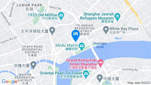 W Shanghai - The Bund Map