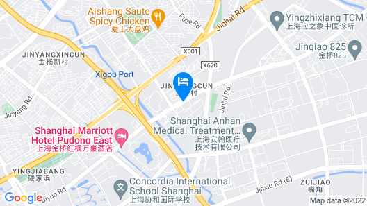 iFamily Apartment Xinjinqiao Branch Map