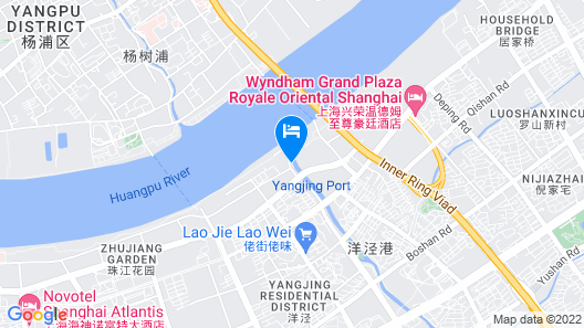 Ramada Plaza Pudong Map