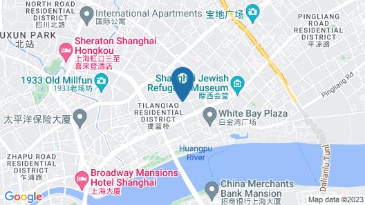 Banyan Tree Shanghai On The Bund Map