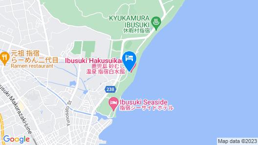 Ibusuki Hakusuikan Map