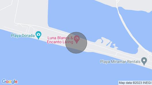 Luna Blanca Resort Beach Front 2 Bedroom Condo - Unit# 1103 Map