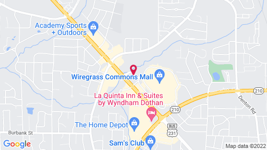 TownePlace Suites Dothan Map