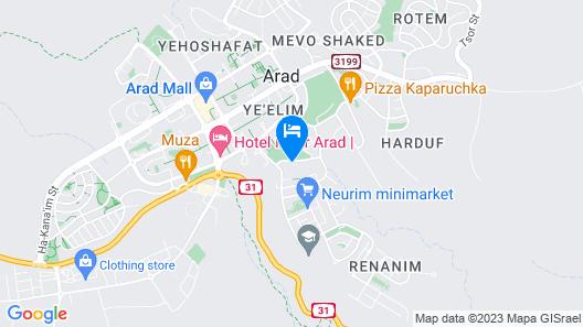 HI Arad Hostel Map
