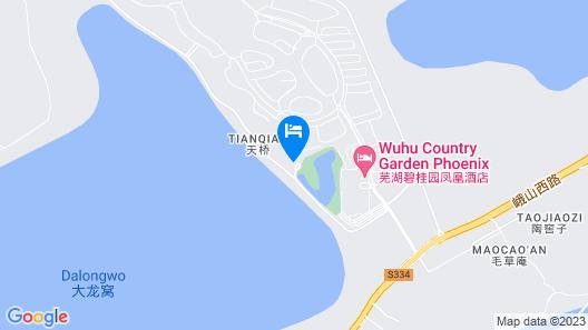Wuhu Garden Hotel Maritim Map