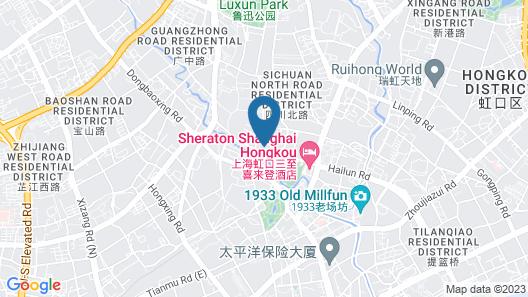 Sheraton Shanghai Hongkou Hotel Map