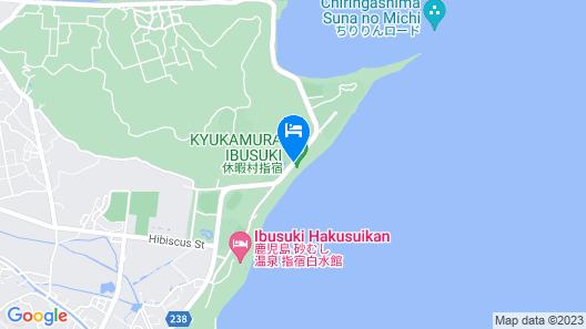 Kyukamura Ibusuki Map
