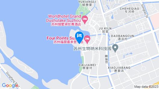 Oakwood Hotel & Residence Suzhou Map