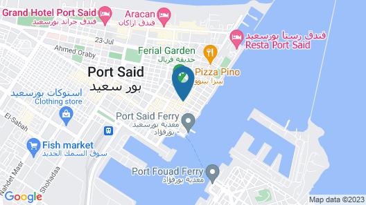De La Poste Map
