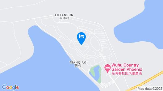 Maritim Hotel - Wuhu Map