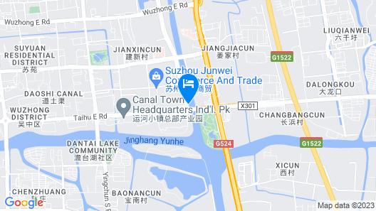 Royal Tulip Suzhou Map
