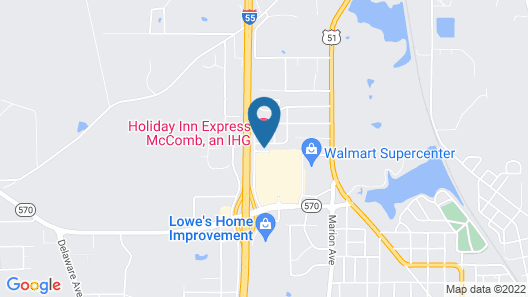 Holiday Inn Express McComb, an IHG Hotel Map