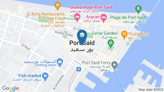 Aracan Hotel Map