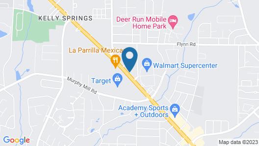Hampton Inn & Suites Dothan Map
