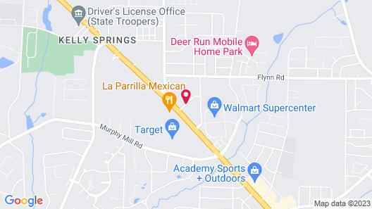 Hilton Garden Inn Dothan Map