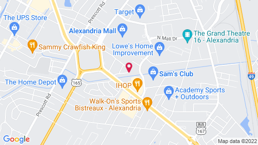 Home2 Suites by Hilton Alexandria Map