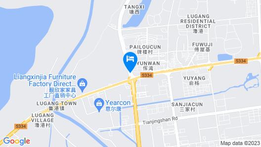 HUALUXE Wuhu, an IHG Hotel Map