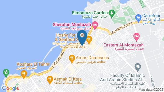 Alexandria Mediterranean Suites Map