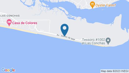 Solitude on the Beach Map