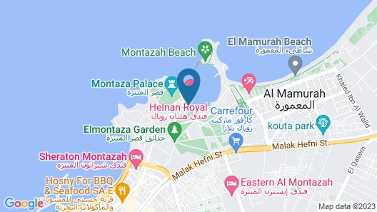 Helnan Palestine Hotel Map