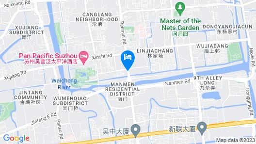 PACE HOTEL Suzhou Renmin Branch Map